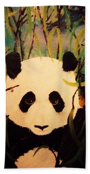 Endangered Panda Beach Towel