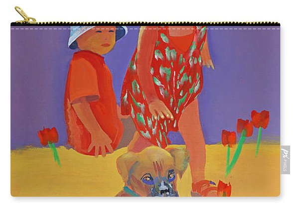 The Boxer Puppy Carry-all Pouch