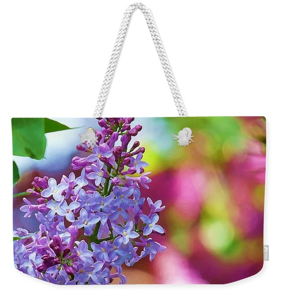 Lilacs 2012 Weekender Tote Bag
