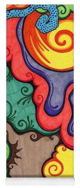 Caribbean Colors Yoga Mat