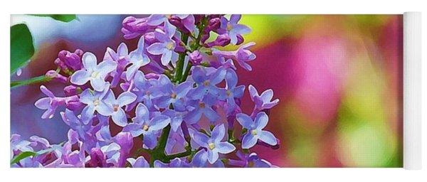 Lilacs 2012 Yoga Mat