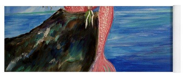 Mermaid Wishes Yoga Mat