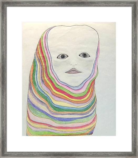 The Masks Framed Print