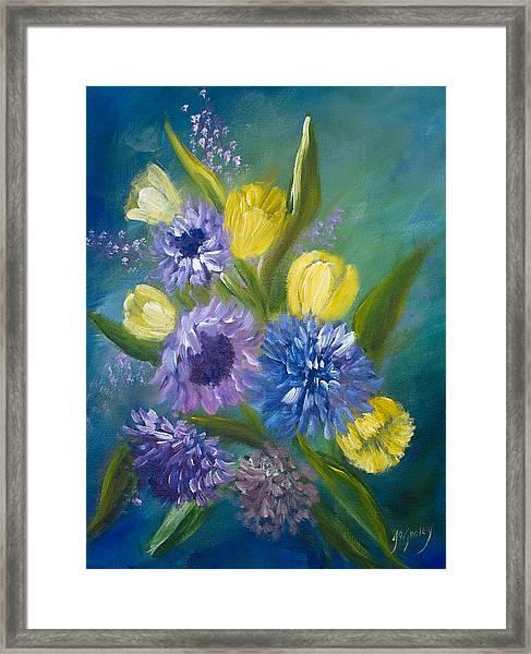 Bonnie Bouquet Framed Print