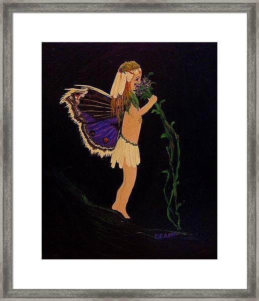 Fairy Girl Framed Print