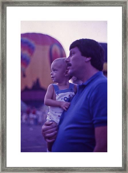 Hot Air Balloon - 6 Framed Print by Randy Muir