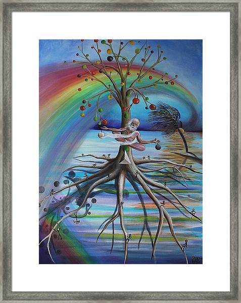 Rising Above Illusion Framed Print