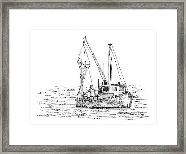 The Vessel Little Jim Framed Print