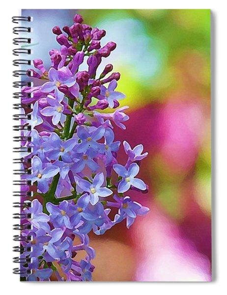 Lilacs 2012 Spiral Notebook