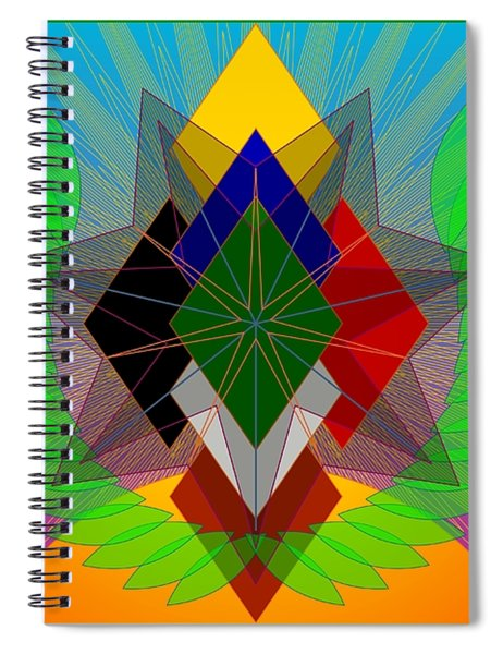 We N' De Ya Ho 2012 Spiral Notebook