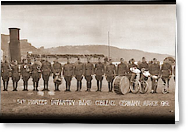 54th Pioneer Infantry Band, Coblenz Greeting Card