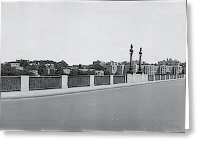 Connecticut Ave Bridge, Washington Dc Greeting Card