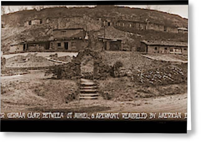 Former German Camp, Between St Mihiel Greeting Card