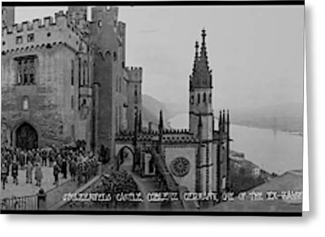 Stolzenfels Castle Koblenz Germany Greeting Card