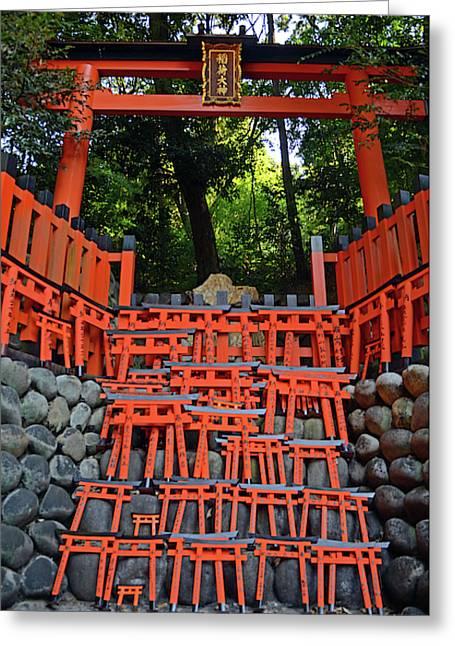 Fushimi Inari Taisha Shrine, Kyoto Greeting Card