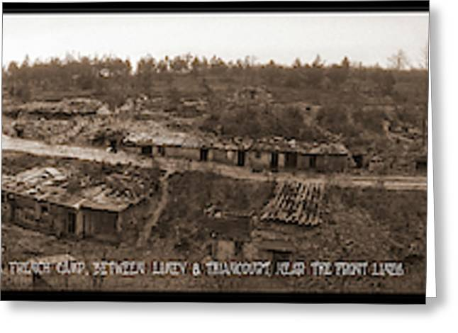 A French Camp, Between Limey Greeting Card