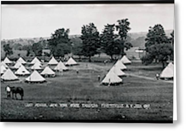 Camp Newayo, New York State Troopers Greeting Card