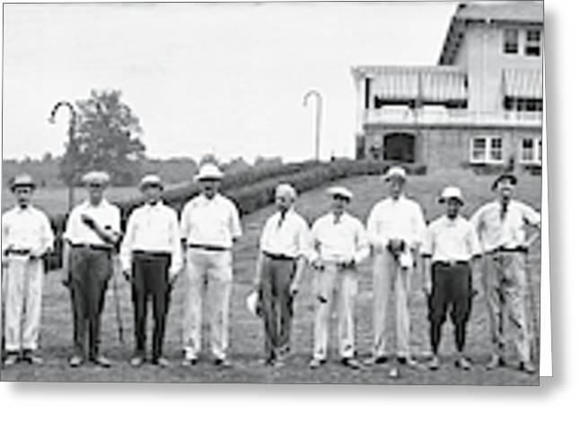 Chamber Of Commerce Golf Outing Greeting Card by Fred Schutz Collection