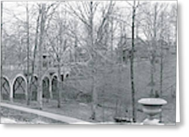Forest Glen Seminary Md Greeting Card by Fred Schutz Collection
