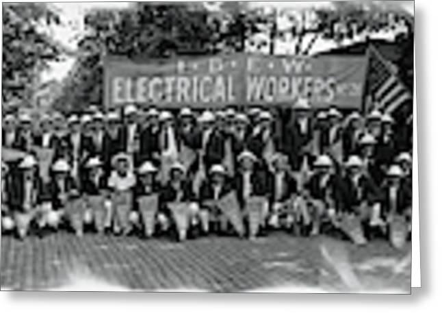 International Brotherhood Of Electrical Greeting Card