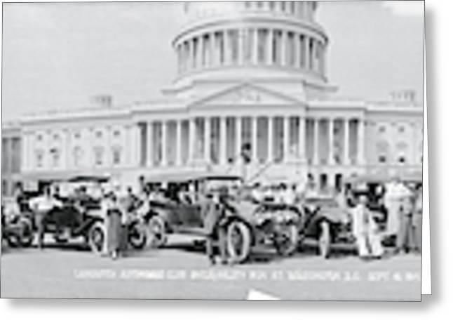 Lanscaster Automobile Club Washington Dc Greeting Card