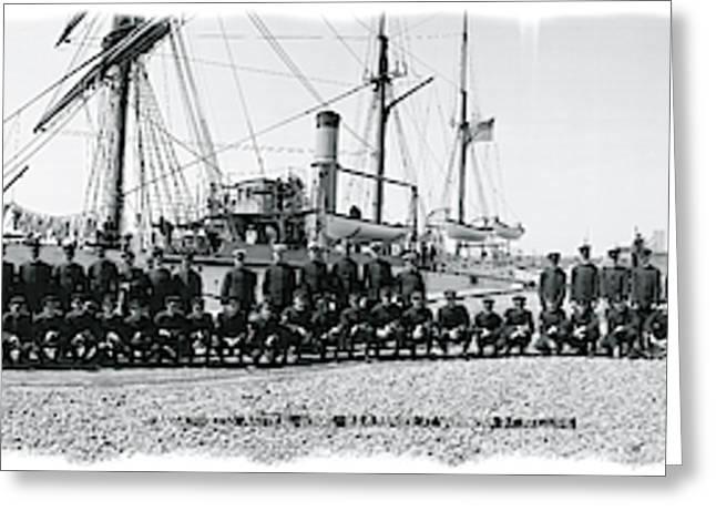 Nautical School Ship Uss Ranger Greeting Card