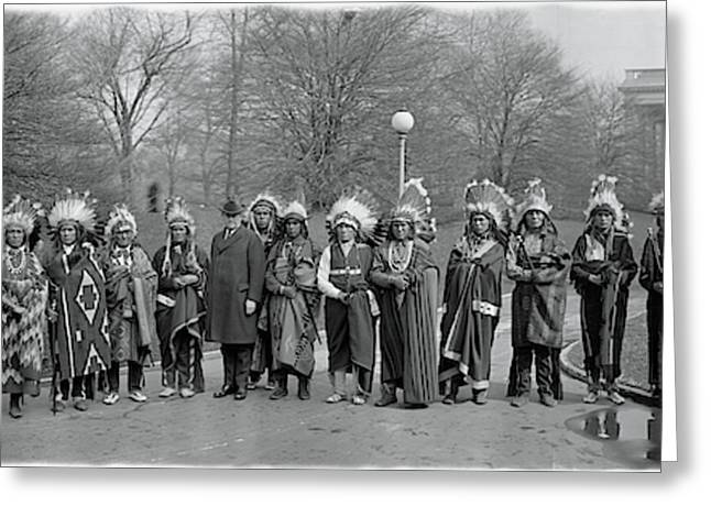 Pueblo Indians Washington Dc Greeting Card