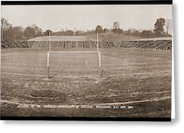 Stadium, Of The Catholic University Greeting Card