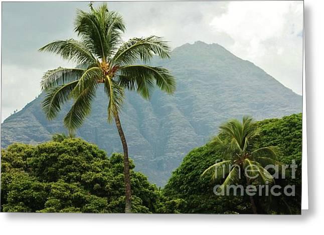 Tropical Splendor Greeting Card