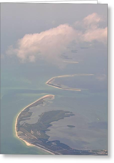 Honeymoon Island Greeting Card