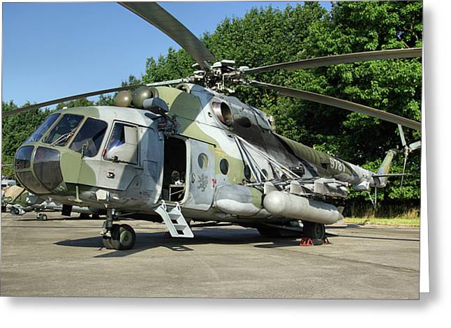 Mil Mi-17 Hip Greeting Card