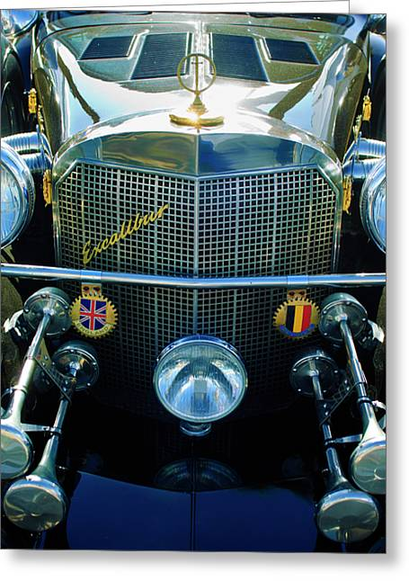 1984 Excalibur Roadster Grille Greeting Card