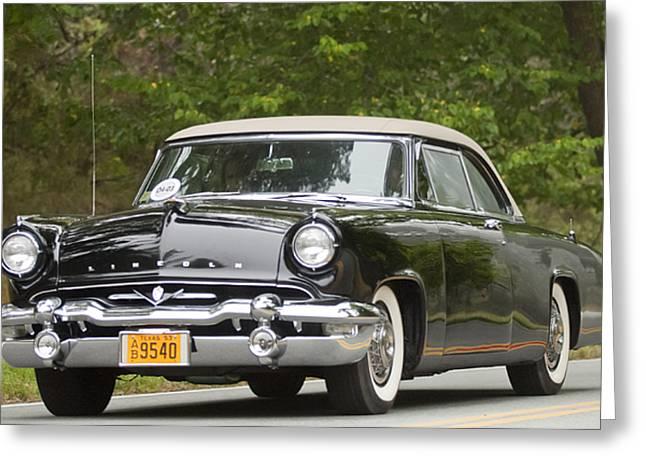 1953 Lincoln Capri Derham Coupe Greeting Card