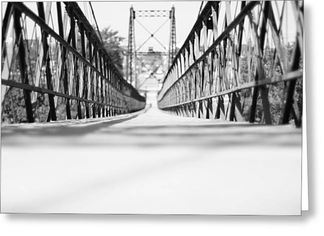 2 Cent Bridge Greeting Card