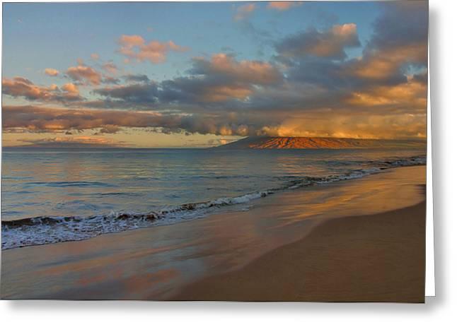 Maui Dawn Greeting Card by Stephen  Vecchiotti
