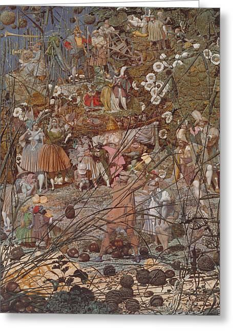 The Fairy Feller's Master-stroke Greeting Card