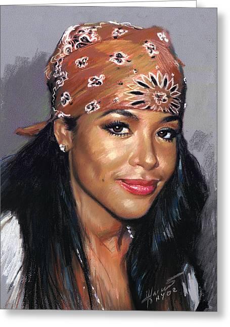 Aaliyah Dana Haughton Greeting Card