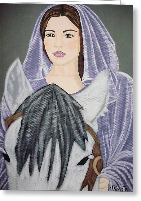 Arwen Greeting Card