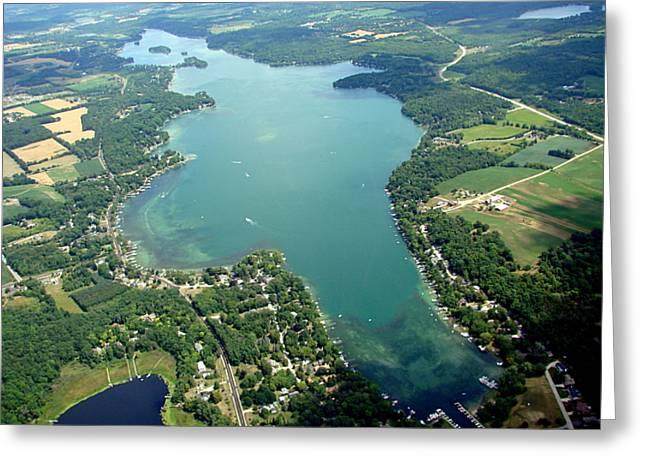 B-003 Big Cedar Lake Washington Co. Greeting Card