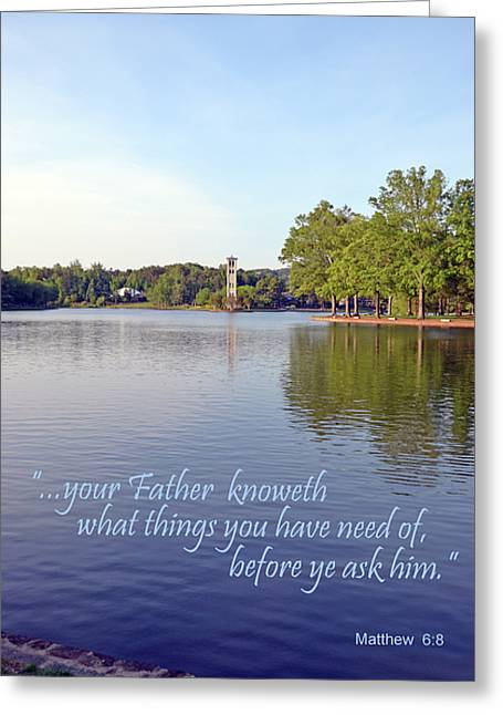 Before You Ask Greeting Card by Larry Bishop