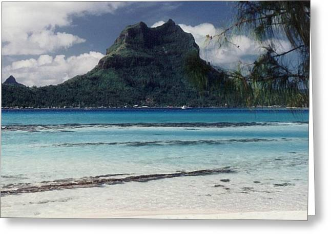 Greeting Card featuring the photograph Bora Bora by Mary-Lee Sanders