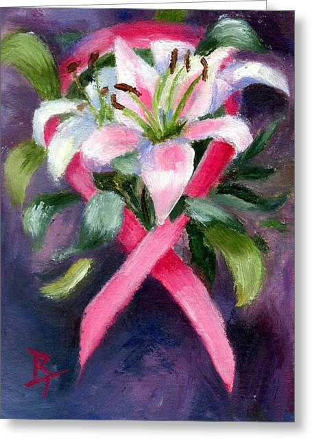 Caring Aceo Greeting Card by Brenda Thour