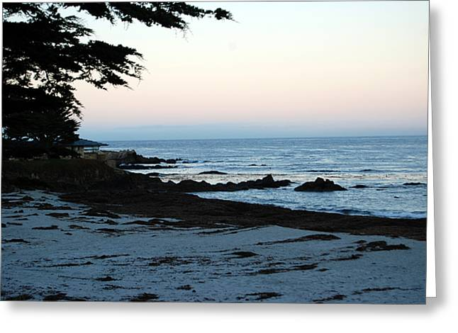 Carmel Beach Awakes Greeting Card