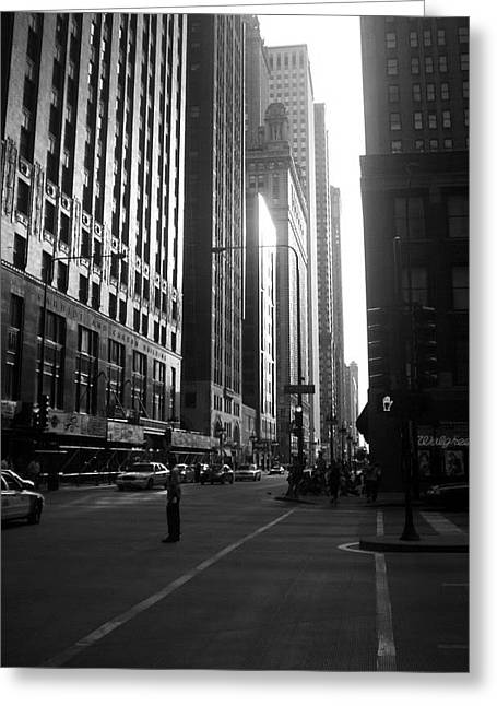 Chicago 2 Greeting Card