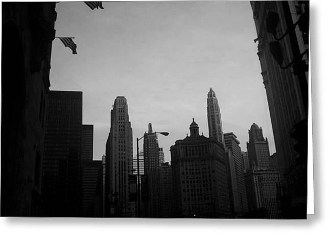 Chicago 3 Greeting Card