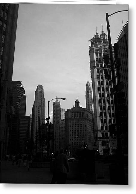 Chicago 4 Greeting Card