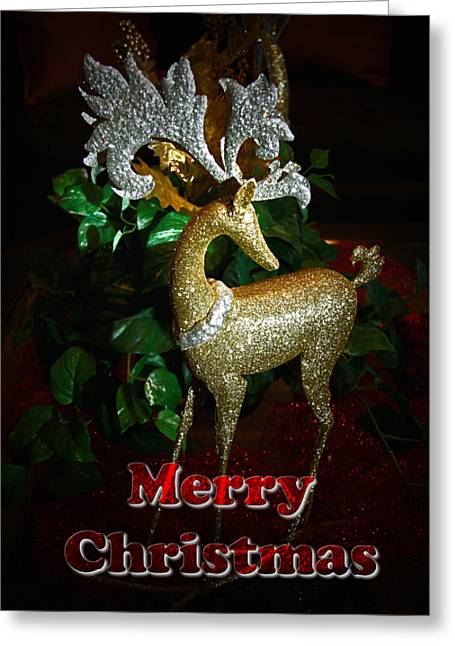 Christmas Card Greeting Card by Chris Brannen
