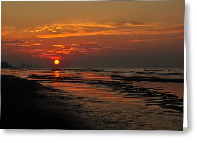 Dawn Of A New Day Greeting Card by Kathy Jennings