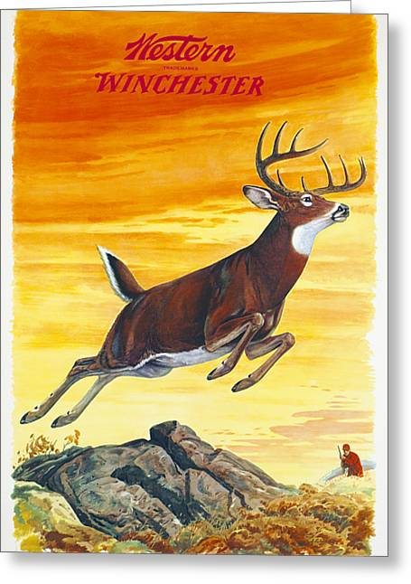 Deer Hunter Greeting Card