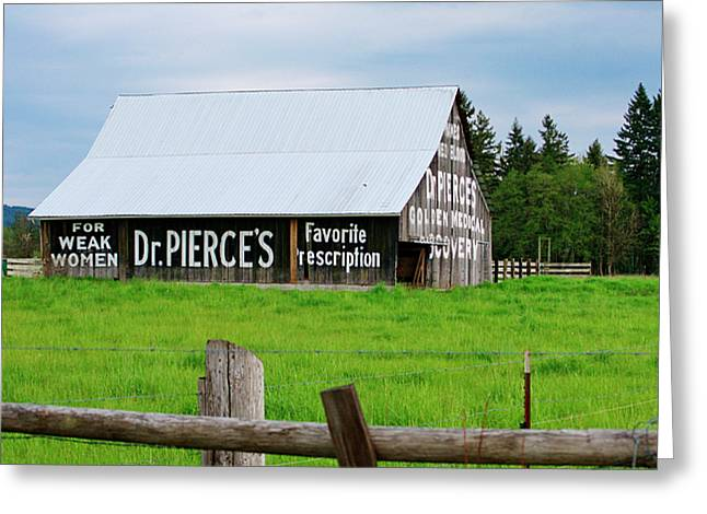 Dr Pierce' Barn 110514.109c1 Greeting Card
